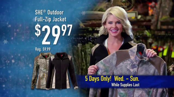 Bass Pro Shops 5 Day Sale TV Spot, 'Jeans, Jackets and Spinning Combos' - Thumbnail 8