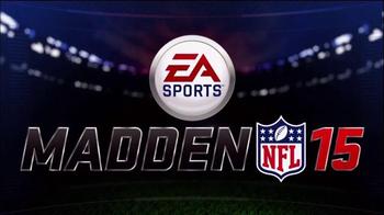 Madden NFL 15 TV Spot, 'Smart Defense' - Thumbnail 1