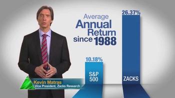 Zacks Investment Research TV Spot, 'Make More' - Thumbnail 3