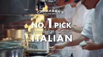 Carrabba's Grill Toast the Season TV Spot, 'Popping the Cork' - Thumbnail 7