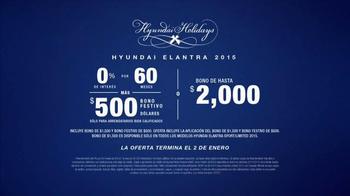 2015 Hyundai Elantra TV Spot, 'Hyundai Holidays' [Spanish] - Thumbnail 10