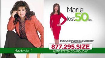 Nutrisystem TV Spot, 'Holiday Season' Ft. Melissa Joan Hart, Marie Osmond - 1 commercial airings
