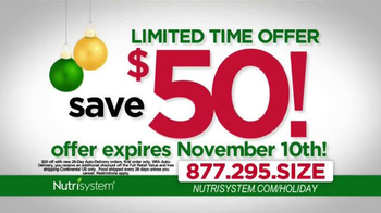 Nutrisystem TV Spot, 'Holiday Season' Ft. Melissa Joan Hart, Marie Osmond - Thumbnail 10