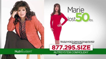 Nutrisystem TV Spot, 'Holiday Season' Ft. Melissa Joan Hart, Marie Osmond - 1 commercial airings