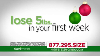 Nutrisystem TV Spot, 'Holiday Season' Ft. Melissa Joan Hart, Marie Osmond - Thumbnail 4