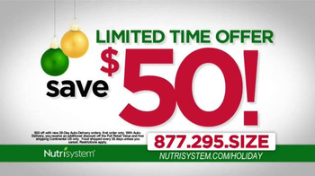 Nutrisystem TV Spot, 'Holiday Season' Ft. Melissa Joan Hart, Marie Osmond - Thumbnail 8
