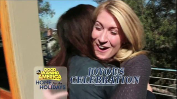 GoodMorningAmerica.com TV Spot, \'Home for the Holidays\'