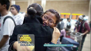 GoodMorningAmerica.com TV Spot, 'Home for the Holidays' - Thumbnail 6
