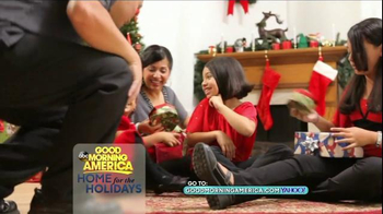 GoodMorningAmerica.com TV Spot, 'Home for the Holidays' - Thumbnail 9