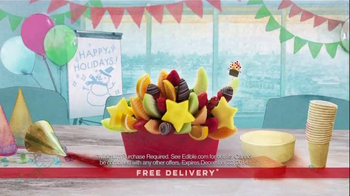 Edible Arrangements TV Spot, 'Sweet Holiday Gifts' - Thumbnail 6