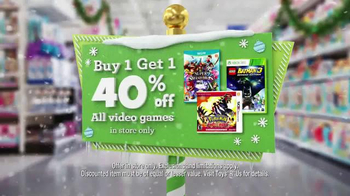 Toys R Us Great Big Christmas Sale TV Spot, 'All Video Games and Movies' - Thumbnail 5
