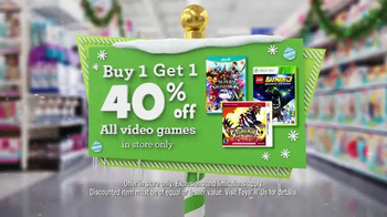 Toys R Us Great Big Christmas Sale TV Spot, 'All Video Games and Movies' - Thumbnail 6