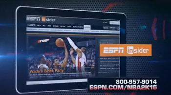 ESPN Magazine TV Spot, 'NBA 2K15 With Your Subscription' - Thumbnail 5