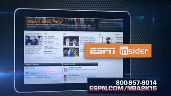 ESPN Magazine TV Spot, 'NBA 2K15 With Your Subscription' - Thumbnail 6