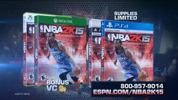 ESPN Magazine TV Spot, 'NBA 2K15 With Your Subscription' - Thumbnail 7