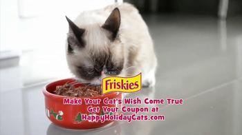 Friskies TV Spot, 'Hard To Be a Cat at Christmas' - Thumbnail 9