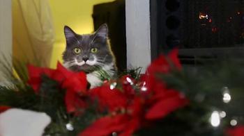 Friskies TV Spot, 'Hard To Be a Cat at Christmas' - Thumbnail 2