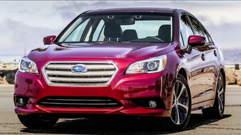 2015 Subaru Legacy TV Spot, 'Discovery Channel Throwdown' - Thumbnail 1