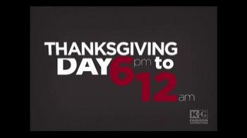 K&G Fashion Superstore Black Friday Sale TV Spot, 'Save Big' - Thumbnail 3