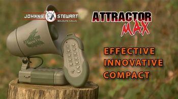 Johnny Stewart Attractor Max TV Spot, 'Fox Call' - 58 commercial airings