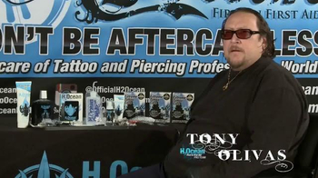 H2Ocean TV Spot, 'New Tattoo Protection' Featuring Tony Olivas - Thumbnail 1