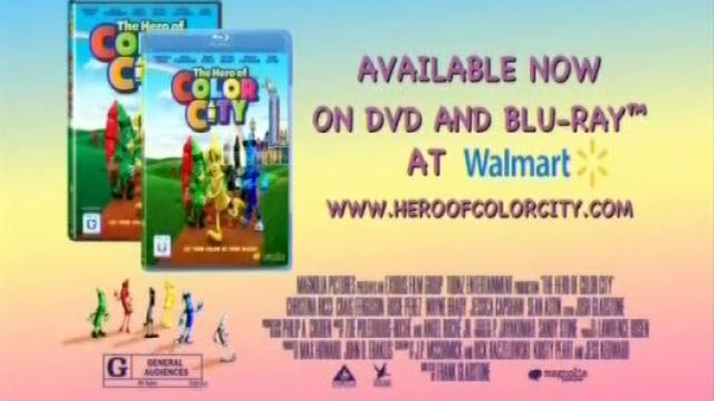 The Hero of Color City DVD and Blu-ray TV Spot - iSpot.tv - photo#38