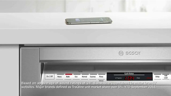 Bosch TV Spot, 'Quietest Dishwasher in the U.S.' - Thumbnail 5