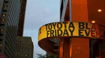 Toyota Black Friday Event TV Spot, 'Everything's Turning Black' - Thumbnail 2