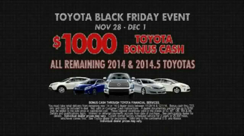 Toyota Black Friday Event TV Spot, 'Everything's Turning Black' - Thumbnail 4