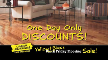Lumber Liquidators Black Friday FloorBuster Deals TV Spot - Thumbnail 5