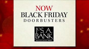 JoS. A. Bank Black Friday Doorbusters TV Spot, 'With Topcoats and Blazers' - Thumbnail 1