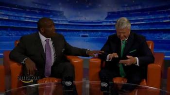 Amazon Fire HD TV Spot, 'NFL Pregame Show' Featuring Jimmy Johnson - Thumbnail 1