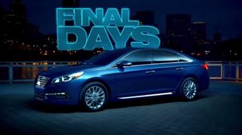 Hyundai Black Tag Sales Event TV Spot, 'Biggest Deals: Final Days' - Thumbnail 2
