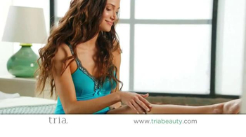 Tria Hair Removal Laser TV Spot, 'Lifetime of Smooth Skin' - Thumbnail 1