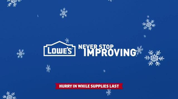 Lowe's Black Friday Deals TV Spot, 'Christmas Decorations' - Thumbnail 10