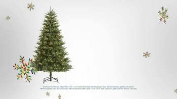 Lowe's Black Friday Deals TV Spot, 'Christmas Decorations' - Thumbnail 4