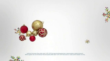 Lowe's Black Friday Deals TV Spot, 'Christmas Decorations' - Thumbnail 7