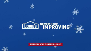 Lowe's Black Friday Deals TV Spot, 'Tools and Gifts' - Thumbnail 10