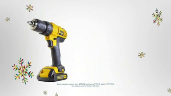 Lowe's Black Friday Deals TV Spot, 'Tools and Gifts' - Thumbnail 4