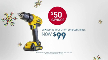 Lowe's Black Friday Deals TV Spot, 'Tools and Gifts' - Thumbnail 6