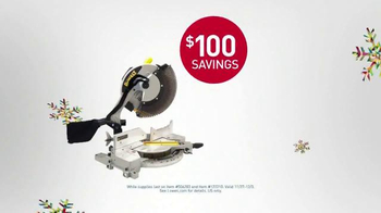 Lowe's Black Friday Deals TV Spot, 'Tools and Gifts' - Thumbnail 7