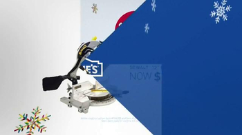 Lowe's Black Friday Deals TV Spot, 'Tools and Gifts' - Thumbnail 9