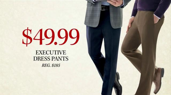 JoS. A. Bank Black Friday Doorbusters TV Spot, 'Executive Dress Pants' - Thumbnail 4