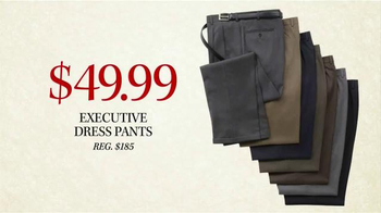 JoS. A. Bank Black Friday Doorbusters TV Spot, 'Executive Dress Pants' - Thumbnail 5