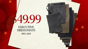 JoS. A. Bank Black Friday Doorbusters TV Spot, 'Executive Dress Pants' - Thumbnail 6