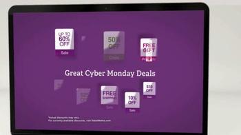 Retailmenot.com TV Spot, 'Tis the Season to Celebrate Cyber Monday Deals' - Thumbnail 6
