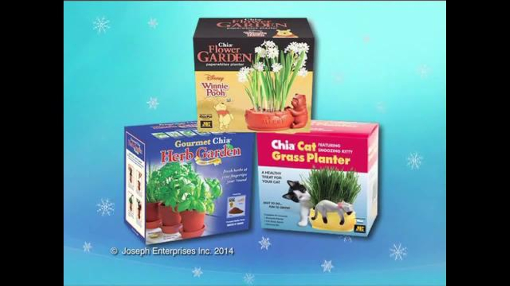 Chia Pet Tv Commercial Holiday Gifts Ispot Tv