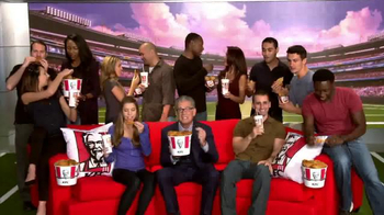 KFC TV Spot, 'Couchgating' Featuring Mike Francesa - Thumbnail 10