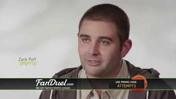 FanDuel One-Day Fantasy Basketball Leagues TV Spot, 'Nothing to Lose' - Thumbnail 2