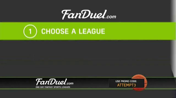 FanDuel One-Day Fantasy Basketball Leagues TV Spot, 'Nothing to Lose' - Thumbnail 3